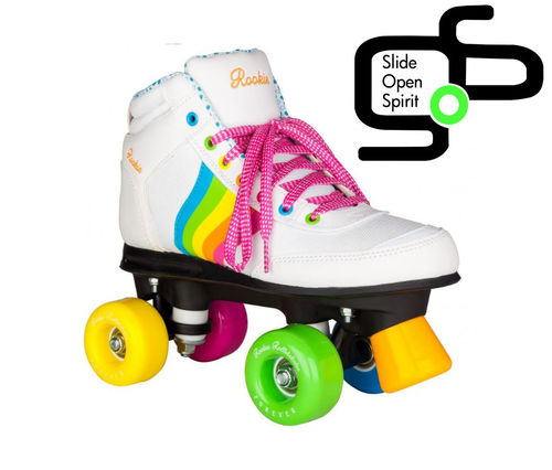 Roller Quad Rookie Rainbow V2 White