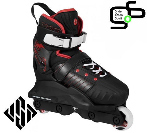 Roller USD Transformer Black Red