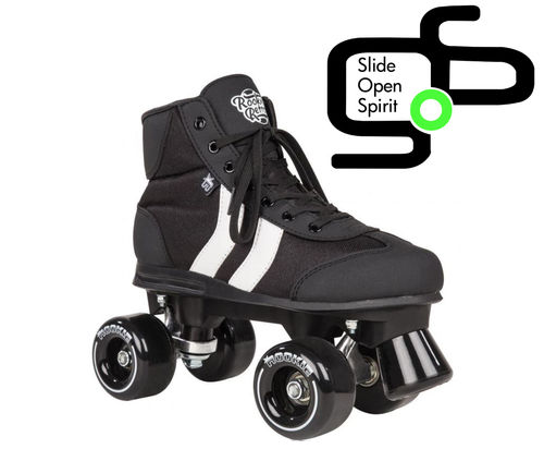 Roller quad Rookie Rétro V2 Black
