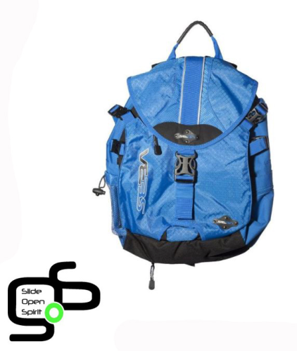 Sac Roller SEBA Backpack Blue