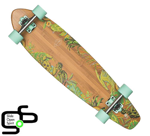 Longboard Globe The All Time Bamboo 35""